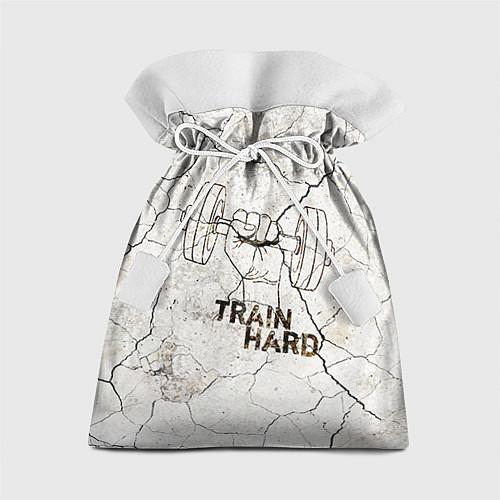 Подарочный мешок Train hard / 3D – фото 1