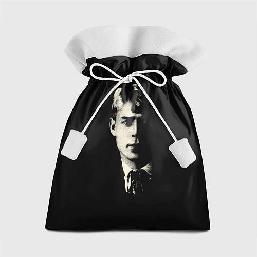 Подарочный мешок Есенин Ч/Б / 3D – фото 1