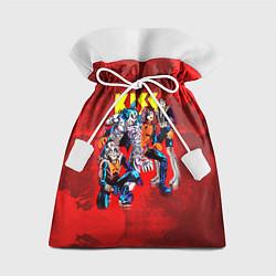 Мешок для подарков KISS: Hot Blood цвета 3D — фото 1