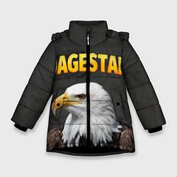 Куртка зимняя для девочки Dagestan Eagle цвета 3D-черный — фото 1
