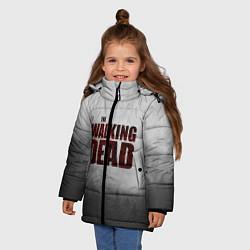 Куртка зимняя для девочки The Walking Dead цвета 3D-черный — фото 2