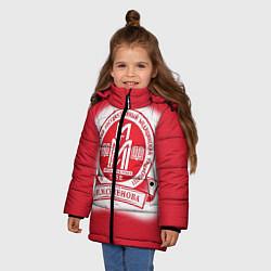 Куртка зимняя для девочки ПМГМУ цвета 3D-черный — фото 2