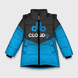 Куртка зимняя для девочки Cloud 9 Uniform цвета 3D-черный — фото 1