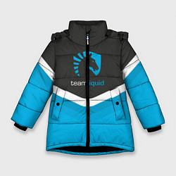 Куртка зимняя для девочки Team Liquid Uniform цвета 3D-черный — фото 1