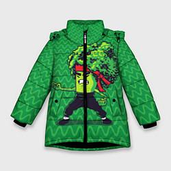 Куртка зимняя для девочки Брокко Ли - фото 1