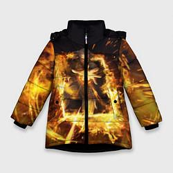 Куртка зимняя для девочки The Witcher цвета 3D-черный — фото 1
