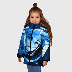 Куртка зимняя для девочки Gagarin Art цвета 3D-черный — фото 2