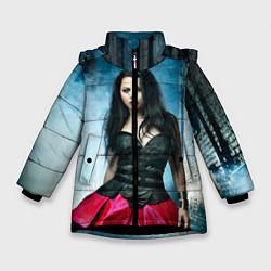 Куртка зимняя для девочки Evanescence - фото 1
