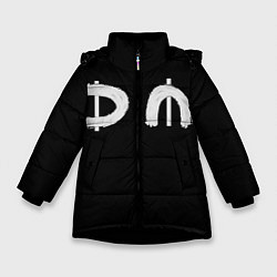 Куртка зимняя для девочки DM Rock цвета 3D-черный — фото 1