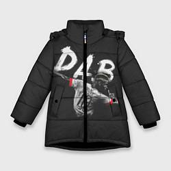 Куртка зимняя для девочки Paul Pogba: Dab цвета 3D-черный — фото 1