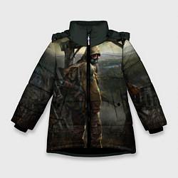 Куртка зимняя для девочки STALKER: Call of Pripyat цвета 3D-черный — фото 1