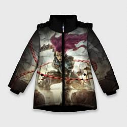 Куртка зимняя для девочки Darksiders Warrior цвета 3D-черный — фото 1