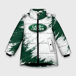 Куртка зимняя для девочки Land Rover цвета 3D-черный — фото 1