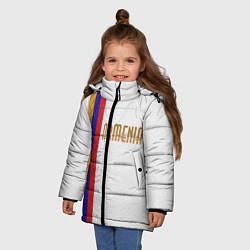 Куртка зимняя для девочки Armenia Line цвета 3D-черный — фото 2