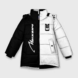 Куртка зимняя для девочки Москвич цвета 3D-черный — фото 1