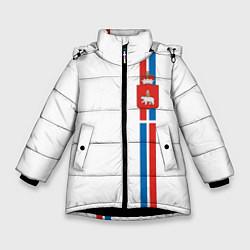 Куртка зимняя для девочки Пермский край цвета 3D-черный — фото 1