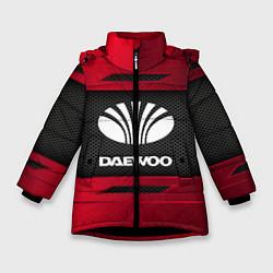 Куртка зимняя для девочки Daewoo Sport цвета 3D-черный — фото 1