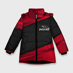 Куртка зимняя для девочки Jaguar: Red Sport цвета 3D-черный — фото 1
