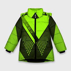 Куртка зимняя для девочки Judo: Sport Style цвета 3D-черный — фото 1