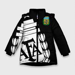 Куртка зимняя для девочки Argentina Team: Exclusive цвета 3D-черный — фото 1