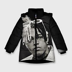 Куртка зимняя для девочки XXXTentacion цвета 3D-черный — фото 1