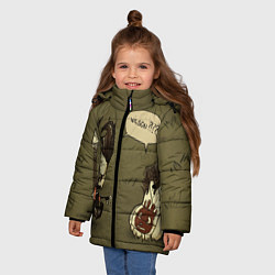 Куртка зимняя для девочки Wilson outcast - фото 2
