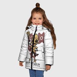 Куртка зимняя для девочки Don't Starve: WX-78 цвета 3D-черный — фото 2