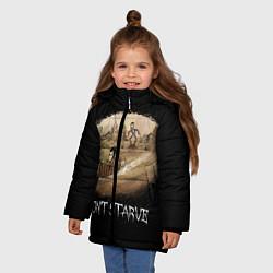 Куртка зимняя для девочки Don't starve stories - фото 2