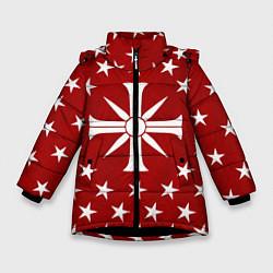 Куртка зимняя для девочки Far Cry 5: Red Cult цвета 3D-черный — фото 1
