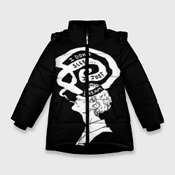 Куртка зимняя для девочки True Detective: I just dream цвета 3D-черный — фото 1