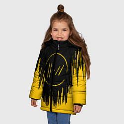 Куртка зимняя для девочки 21 Pilots: Black Side цвета 3D-черный — фото 2