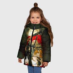 Куртка зимняя для девочки Momonga Narberal Gamma цвета 3D-черный — фото 2