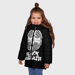Куртка зимняя для девочки Black Sabbath: Faith цвета 3D-черный — фото 2