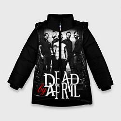 Куртка зимняя для девочки Dead by April: Dark Rock цвета 3D-черный — фото 1