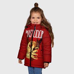 Куртка зимняя для девочки Mastodon: Leviathan цвета 3D-черный — фото 2
