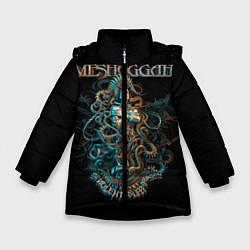 Куртка зимняя для девочки Meshuggah: Violent Sleep цвета 3D-черный — фото 1