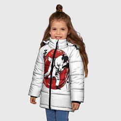 Куртка зимняя для девочки Judo: Japan цвета 3D-черный — фото 2