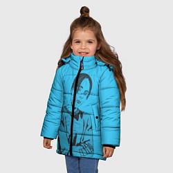 Куртка зимняя для девочки T-Fest цвета 3D-черный — фото 2