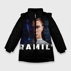 Куртка зимняя для девочки Ramil' цвета 3D-черный — фото 1