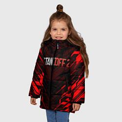 Куртка зимняя для девочки STANDOFF 2 цвета 3D-черный — фото 2
