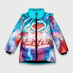 Куртка зимняя для девочки Гоку цвета 3D-черный — фото 1