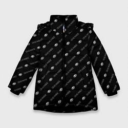 Куртка зимняя для девочки Dead inside - фото 1