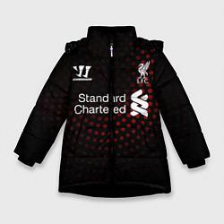 Куртка зимняя для девочки Liverpool цвета 3D-черный — фото 1