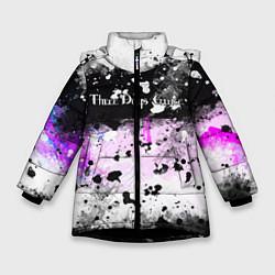Куртка зимняя для девочки THREE DAYS GRACE цвета 3D-черный — фото 1