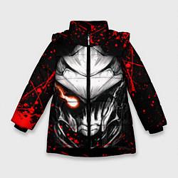 Куртка зимняя для девочки УБИЙЦА ГОБЛИНОВ цвета 3D-черный — фото 1
