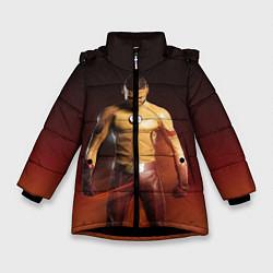 Куртка зимняя для девочки Wally West цвета 3D-черный — фото 1