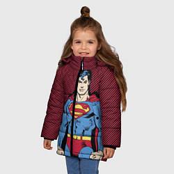 Куртка зимняя для девочки I am your Superman - фото 2