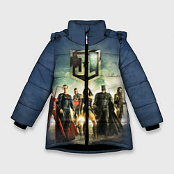 Куртка зимняя для девочки 2610535 цвета 3D-черный — фото 1