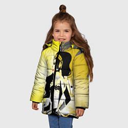 Куртка зимняя для девочки Wonder Woman цвета 3D-черный — фото 2