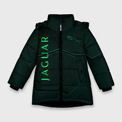 Куртка зимняя для девочки Jaguar Мята Style цвета 3D-черный — фото 1